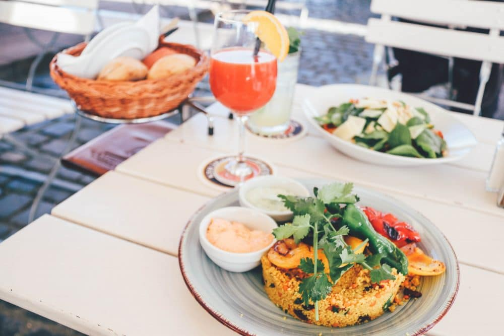 Lunch im Oosten in Frankfurt