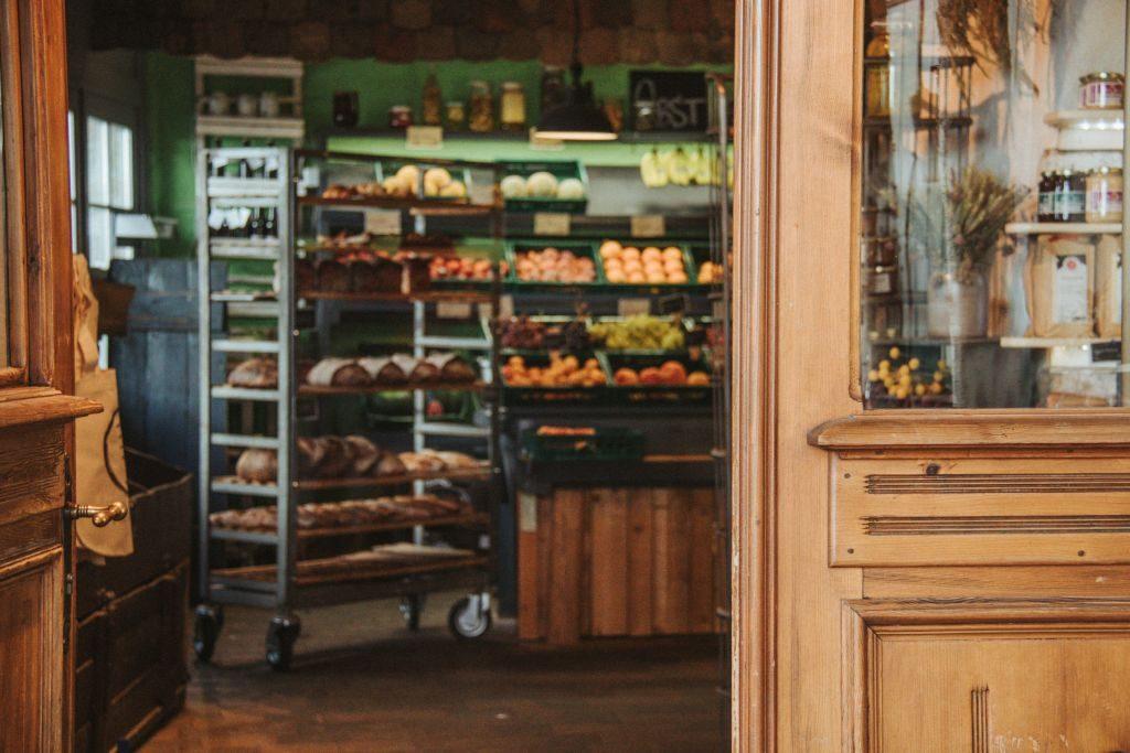 Hofladen mit frischen, regionalen Produkten im Pankratiushof in Mainz