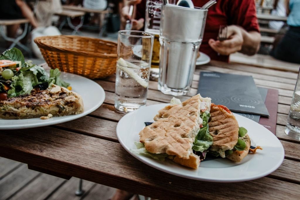 Woog Cafe in Darmstadt