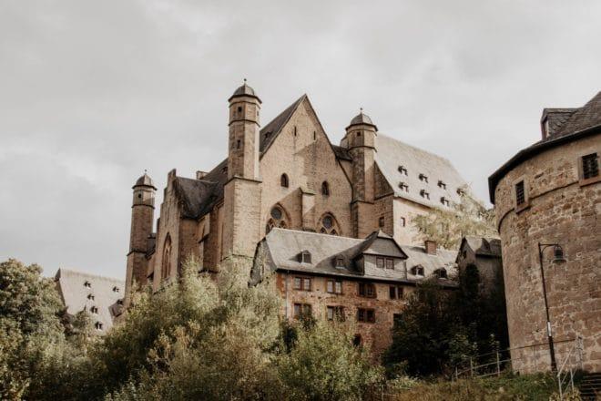 Das Landgrafenschloss in Marburg