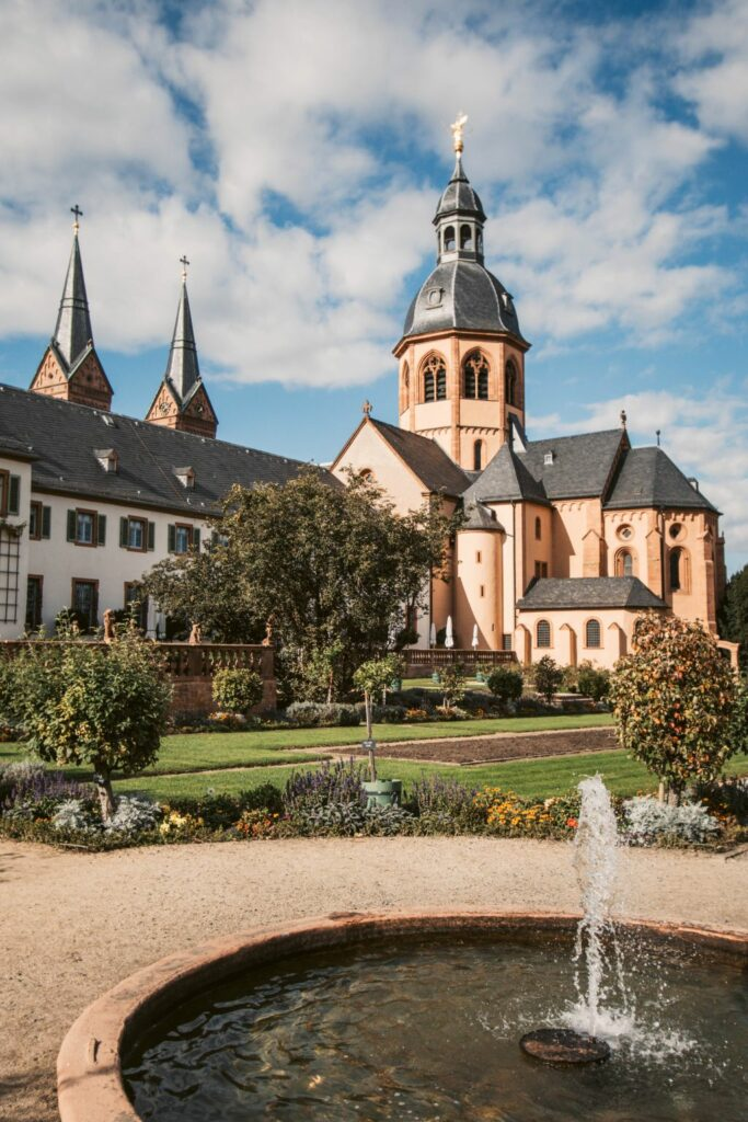 Das Kloster Seligenstadt ist die wichtigste Sehenswürdigkeit