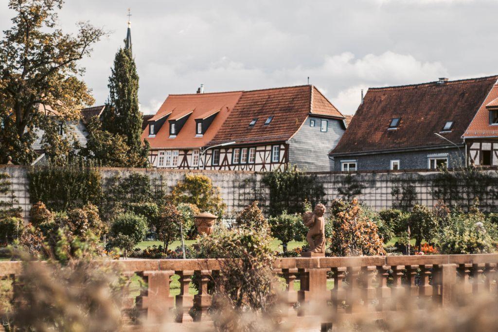 Seligenstadt Sehenswürdigkeiten: Der Klostergarten