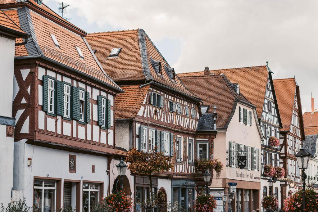 Seligenstadt Sehenswürdigkeiten: Die Altstadt mit Fachwerkhäusern