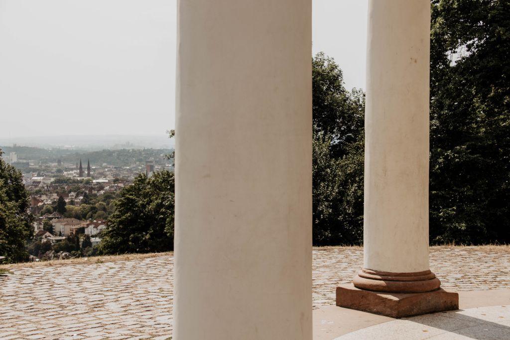 Aussicht vom Neroberg Tempel